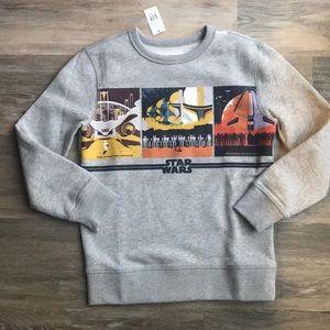 NWT Kids Gap Star Wars Sweatshirt